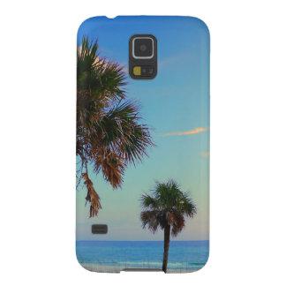 Panama City Beach, Florida palm trees Galaxy S5 Covers