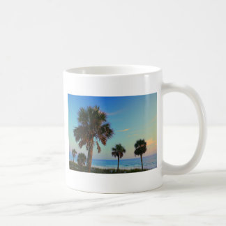 Panama City Beach, Florida palm trees Mug