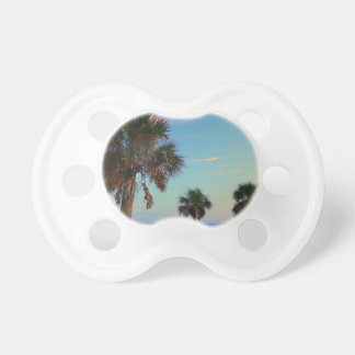 Panama City Beach, Florida palm trees Pacifier