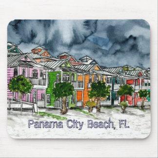 Panama City Beach Florida tropical art gifts Mouse Pad