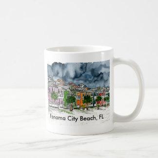 Panama City Beach Florida tropical art gifts Coffee Mugs
