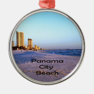 Panama City Beach Metal Ornament
