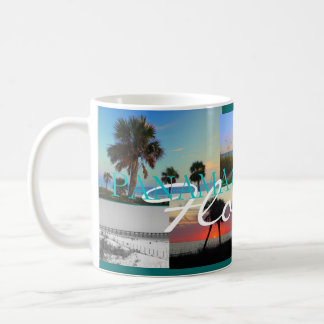 PANAMA CITY BEACH PHOTO COLLAGE COFFEE MUG