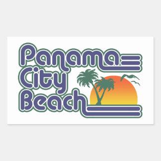 Panama City Beach Rectangular Sticker
