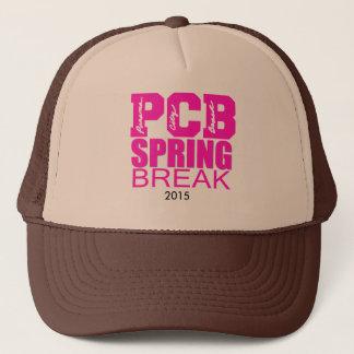 Panama City Beach Spring Break Trucker Snapback Trucker Hat