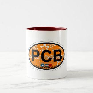 Panama City Beach. Two-Tone Coffee Mug