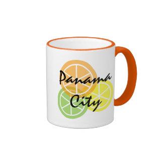Panama City FL Citrus OrangeLimeLemon Coffee Mug