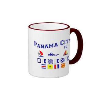 Panama City, FL - Maritime Spelling Mugs