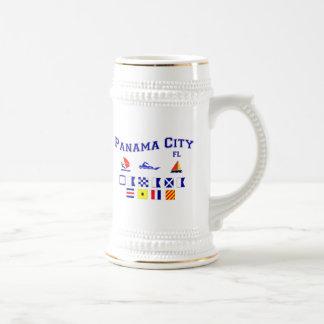Panama City, FL - Maritime Spelling Coffee Mug