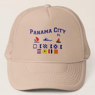 Panama City, FL - Maritime Spelling Trucker Hat