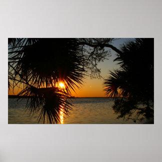 Panama City, FL Sunrise Poster