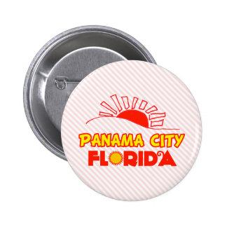 Panama City, Florida 2 Inch Round Button