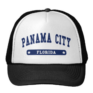 Panama City Florida College Style tee shirts Trucker Hat