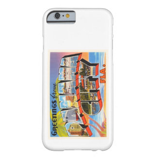 Panama City Florida FL Old Vintage Travel Souvenir Barely There iPhone 6 Case