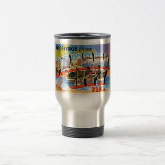 Panama City Florida FL Old Vintage Travel Souvenir Travel Mug