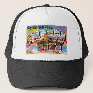 Panama City Florida FL Old Vintage Travel Souvenir Trucker Hat
