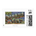Panama City, Florida - Large Letter Scenes Postage