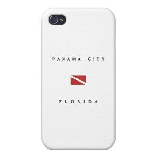 Panama City Florida Scuba Dive Flag iPhone 4 Covers