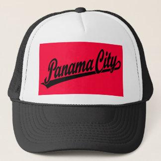 Panama City in black Trucker Hat