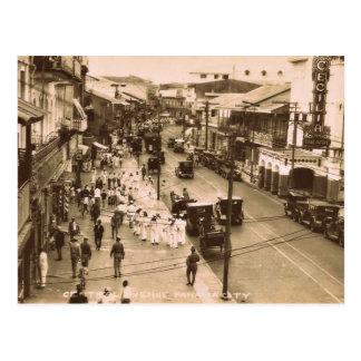 Panama City, Panama circa 1944 Postcard