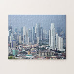 "Panama City Skyline Jigsaw Puzzle<br><div class=""desc"">Panama city skyline from Ancon hill.</div>"