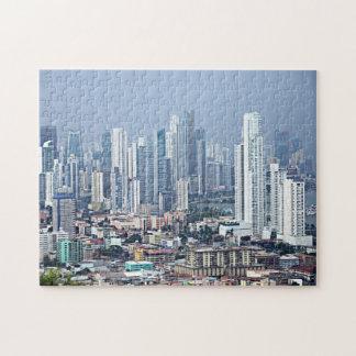 Panama City Skyline Jigsaw Puzzle