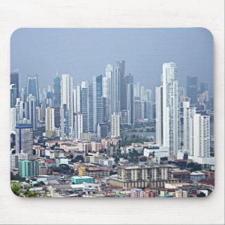 Panama City Skyline Mouse Pad