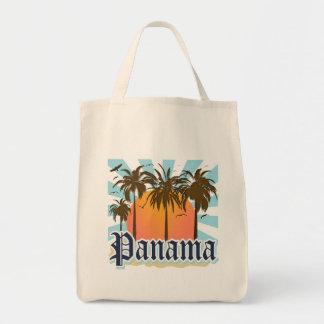 Panama City Souvenir Canvas Bags