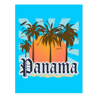 Panama City Souvenir Postcard