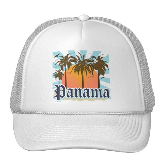 Panama City Souvenir Trucker Hat