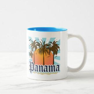 Panama City Souvenir Two-Tone Coffee Mug