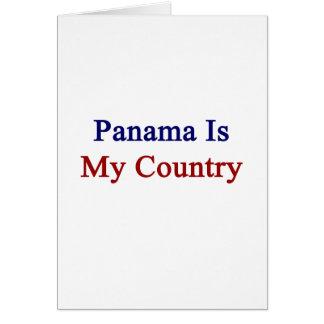 Panamá es mi país tarjeta pequeña