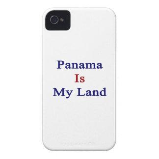 Panamá es mi tierra iPhone 4 cárcasa