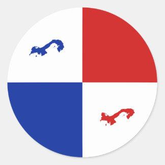 Panama Fisheye Banner Sticker