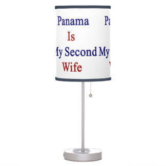 Panama Is My Second Wife Desk Lamps