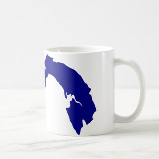 Panama Map Coffee Mug