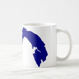 Panama Map Coffee Mugs