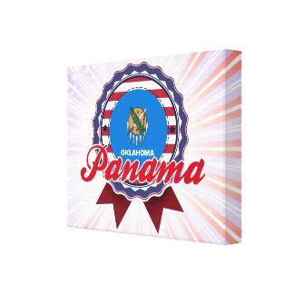 Panama, OK Canvas Print