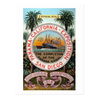 Panama Pacific Expo 1915 Vintage Postcard