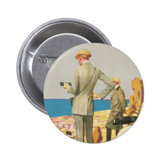 Panama Pacific Exposition 2 Inch Round Button