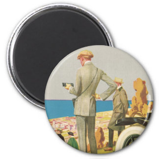 Panama Pacific Exposition 2 Inch Round Magnet