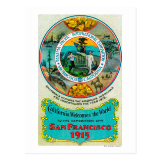Panama Pacific International Expo 2 Postcard