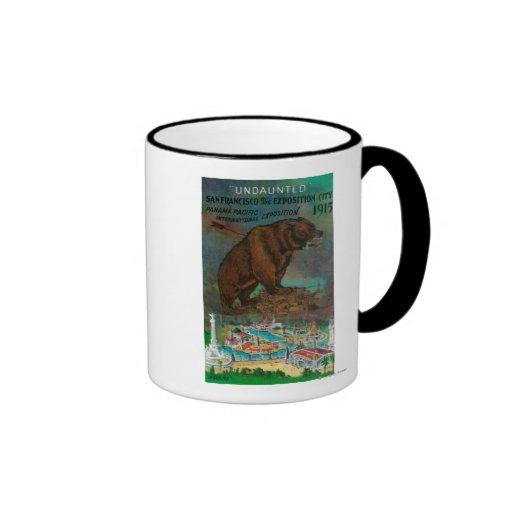 Panama Pacific International Expo Advertisement Coffee Mug