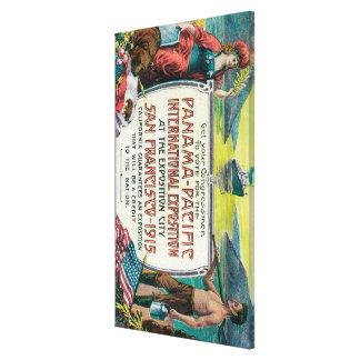 Panama Pacific International Expo Canvas Print