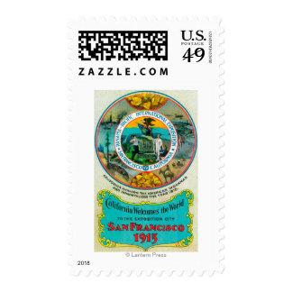 Panama Pacific International Expo Postage