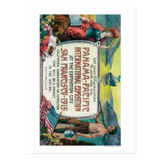 Panama Pacific International Expo Postcard