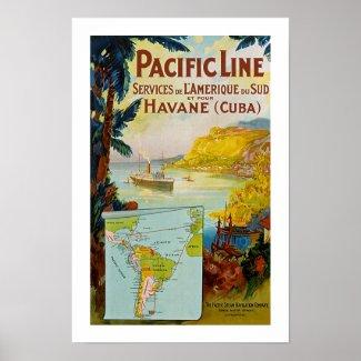 Panama Pacific Line print