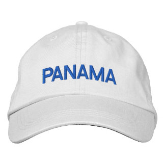 Panama Personalized Adjustable Hat