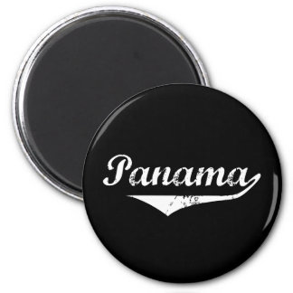 Panama Revolution Style 2 Inch Round Magnet