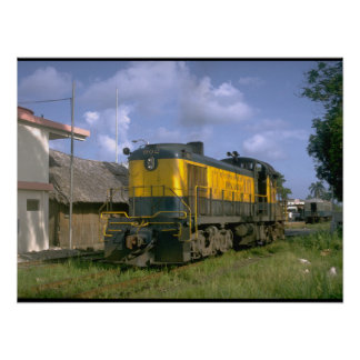 Panama, RR 5 ft. gauge_Trains of the World Poster